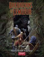 Barbarians of Lemuria ist im Layout